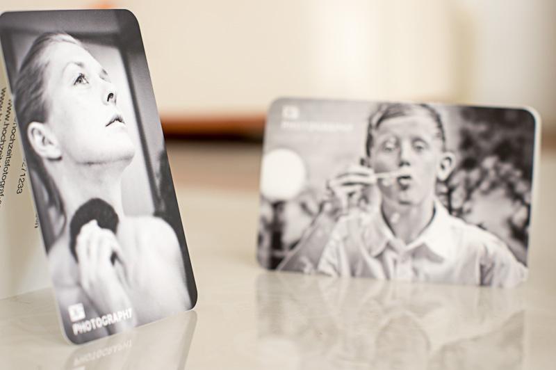 Visitenkarten von Moo cards